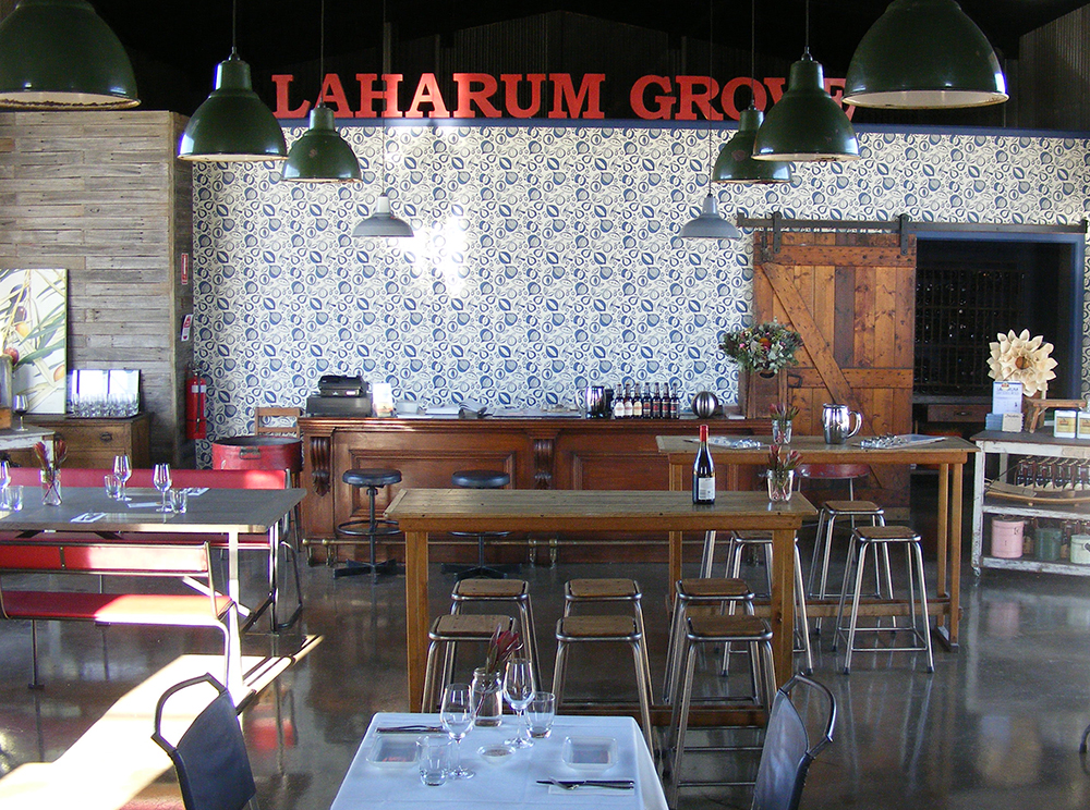 Deirdre's restaurant at Laharum Grove.  David Hannah
