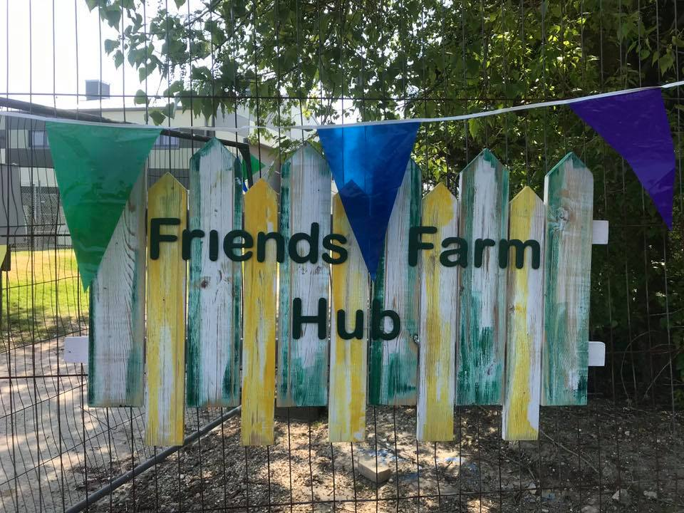 Our Friends Farm HUB, situated in Otley College