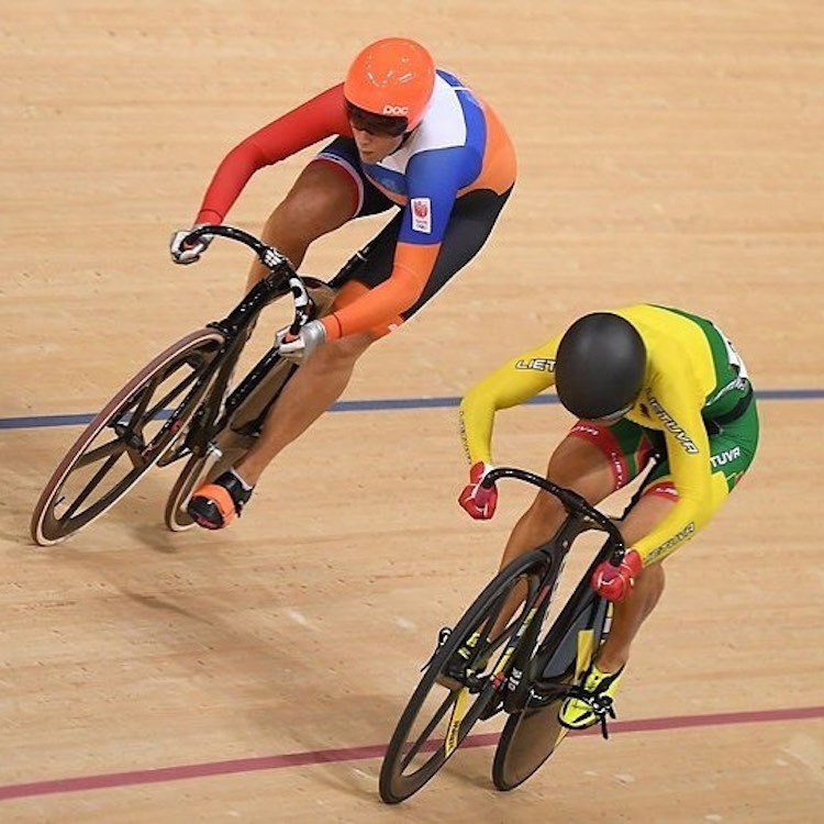 2016 Olympic Gold Medalist in the Keirin, with further Gold in the European Championships and medals in the World Championships. Elis is a Dutch Sprinting powerhouse!