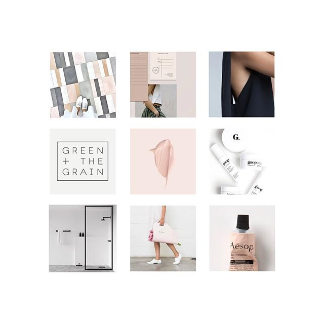 MOODBOARD MONDAY // I'd love to live inside this moodboard for a clean beauty brand that's in the works 😍