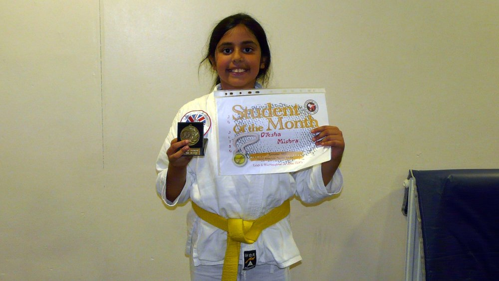 Student of the Month - Oct - Diksha.JPG