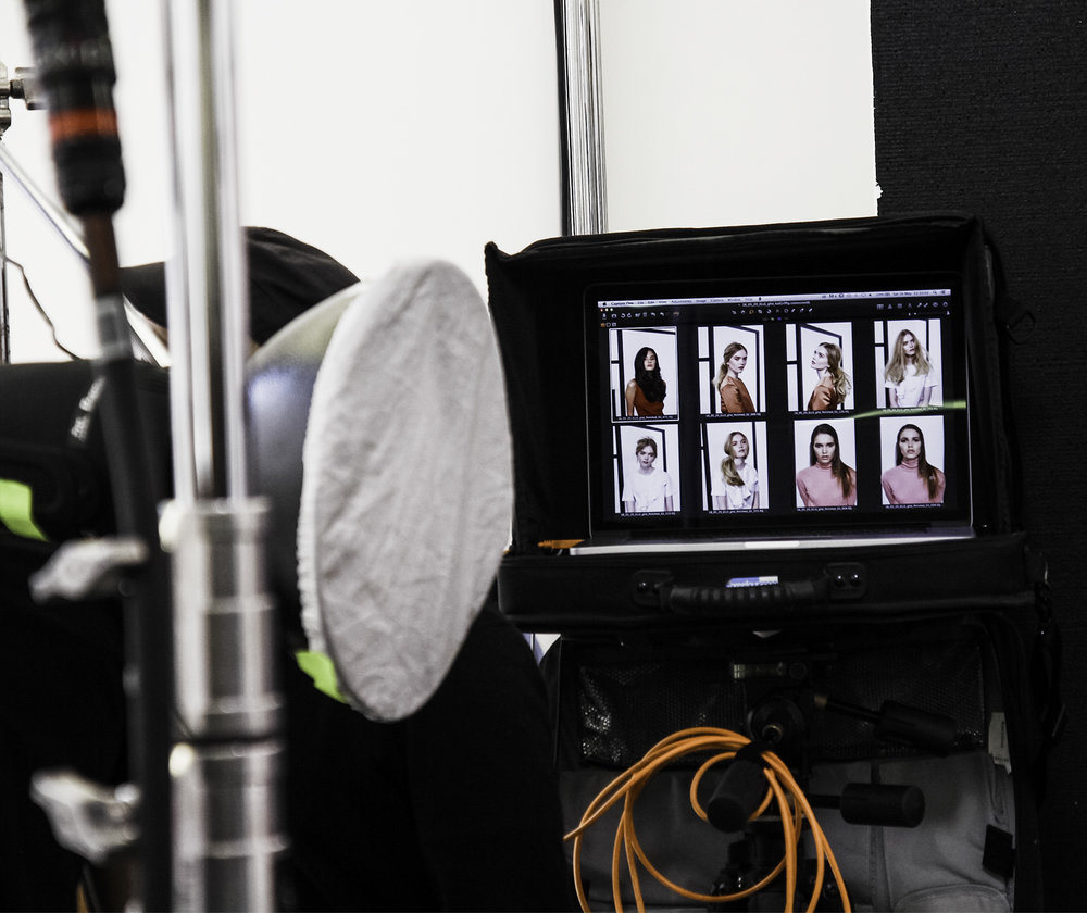 Elle magazine and GHD live shoot 4.jpg
