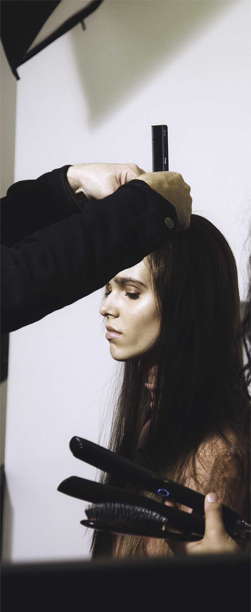 Elle magazine and GHD live shoot 7.jpg