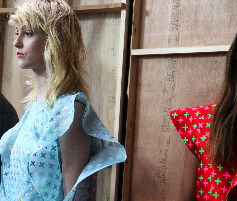 London Fashion week SS16 Backstage Fyodor Golan 12.jpg