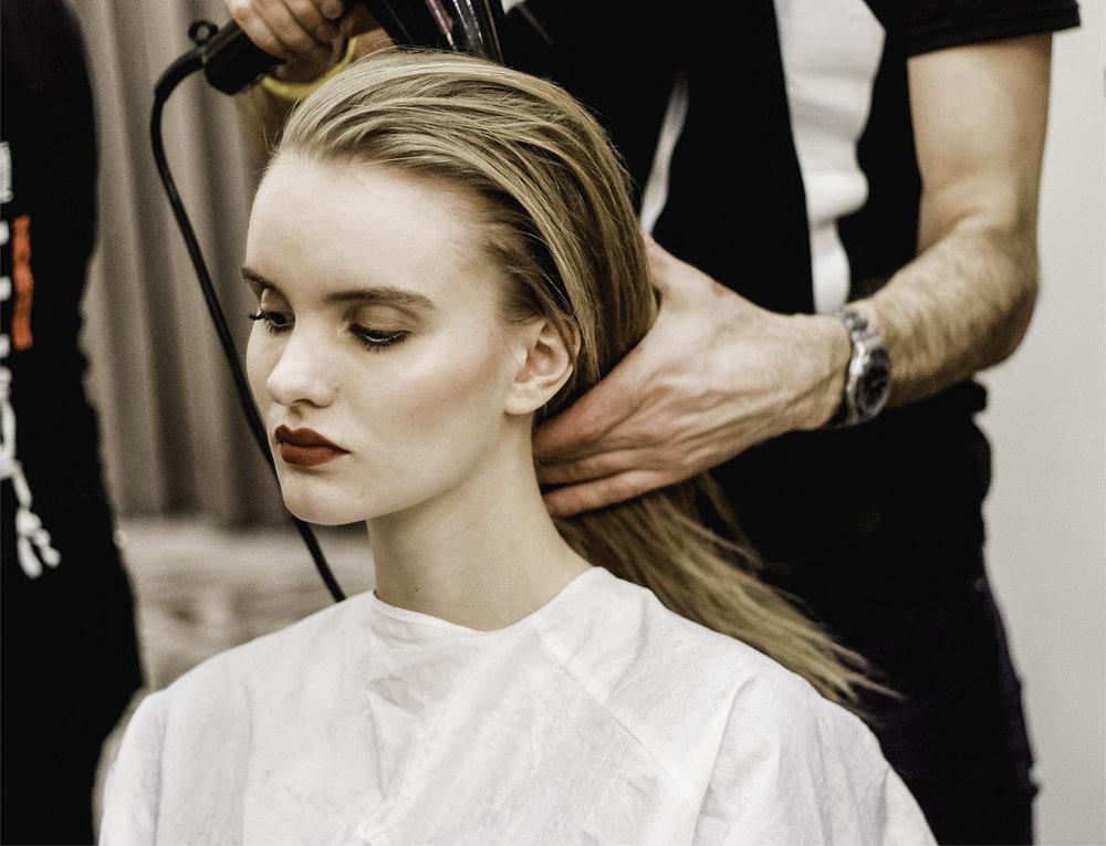 Paul Costelloe AW15 Backstage beauty London Fashion Week 3.jpg