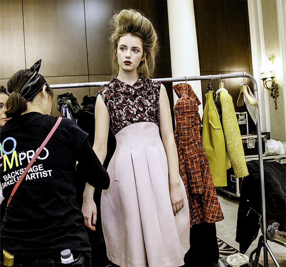 Paul Costeloe AW15 Backstage London Fashion Week 4.jpg