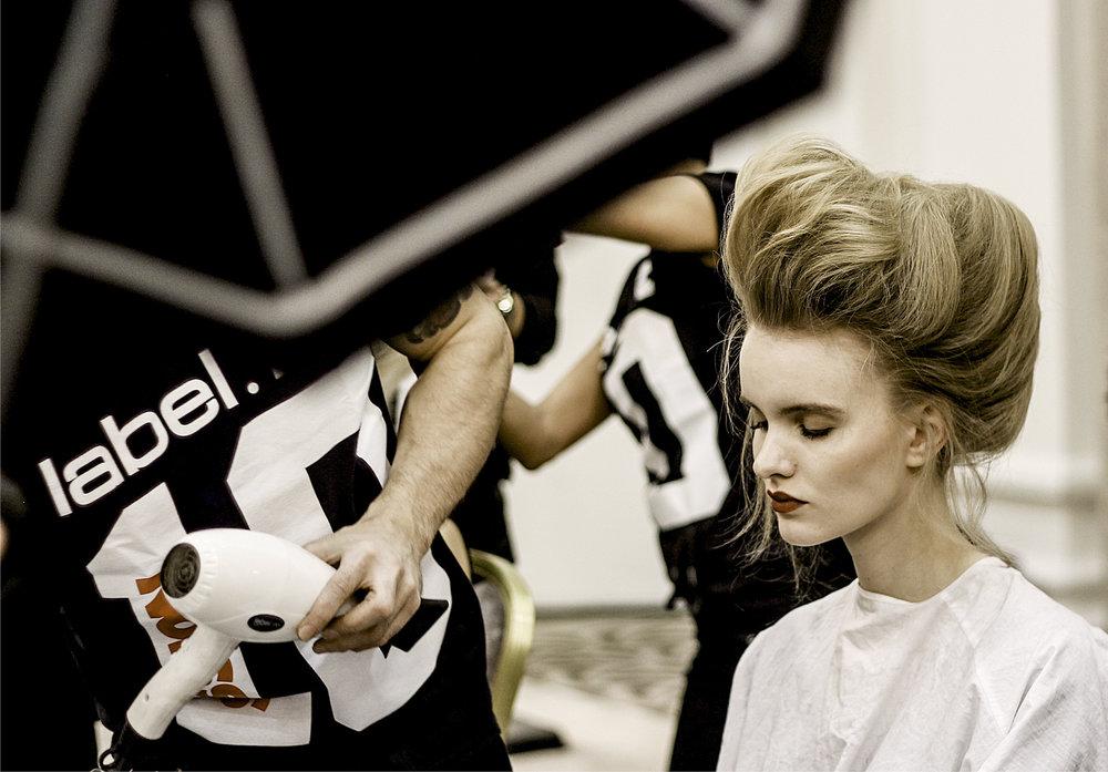 Paul Costeloe AW15 Backstage London Fashion Week 5.jpg