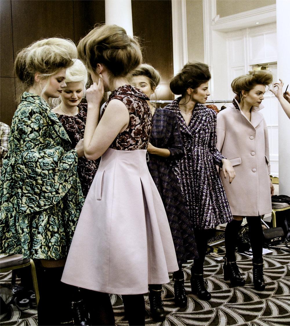 Paul Costeloe AW15 Backstage London Fashion Week 8.jpg