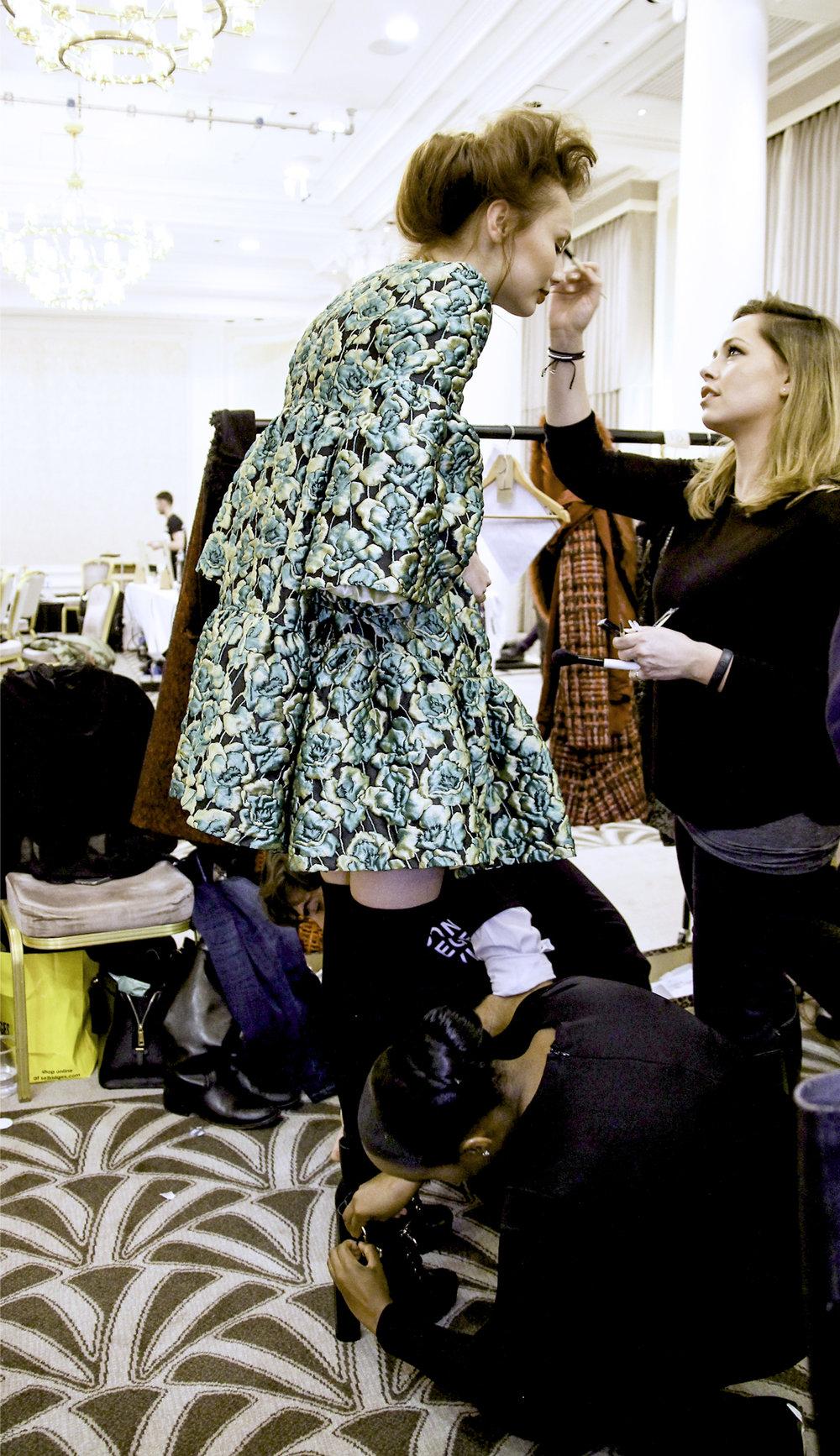 Paul Costeloe AW15 Backstage London Fashion Week.jpg