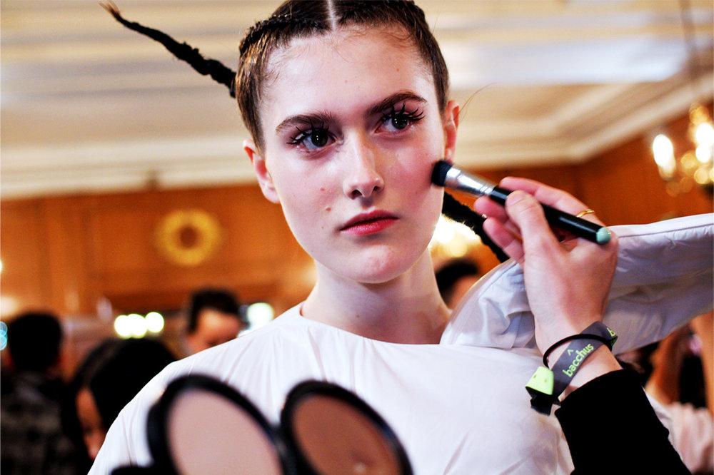 london college of fashion MA16 backstage 2.jpg