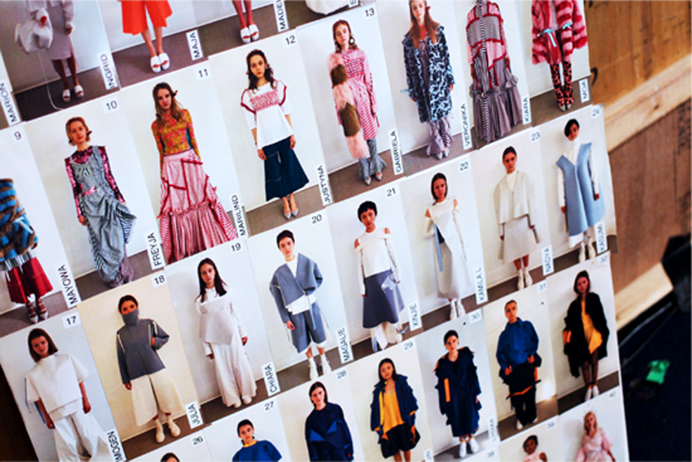 london college of fashion MA16 womenswear backstage 5.jpg