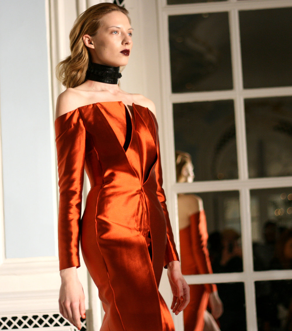 Fyodor Golan AW13 London Fashion Week catwalk 7.jpg