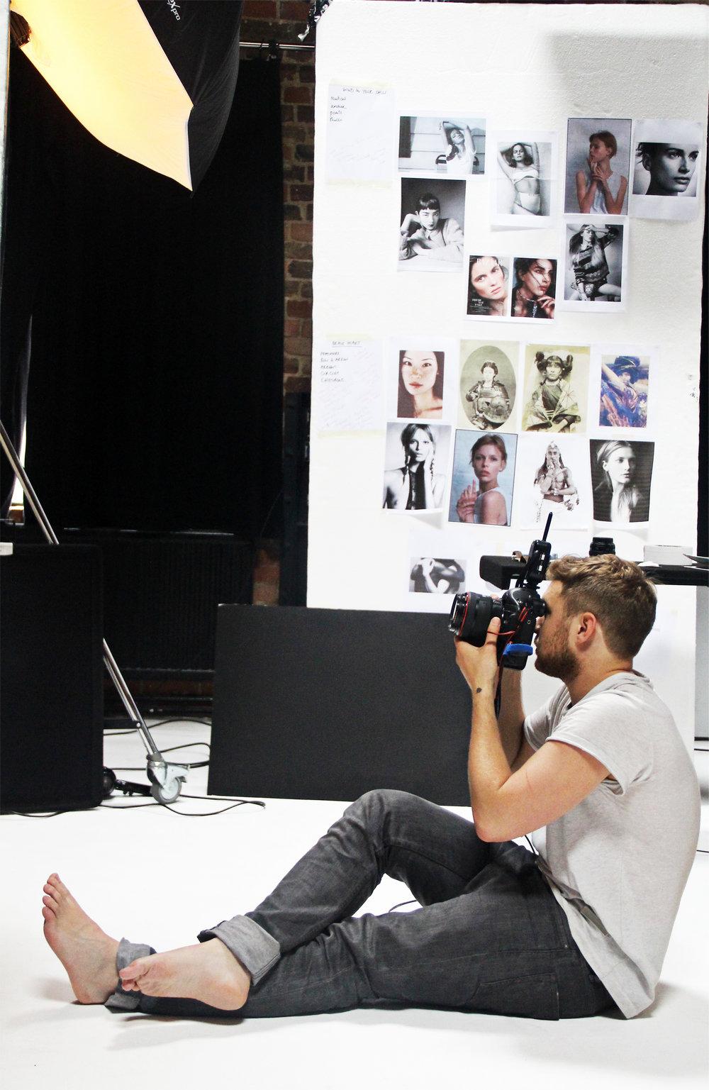 Behind the scenes Phoebe Coleman Look book shoot 9.jpg