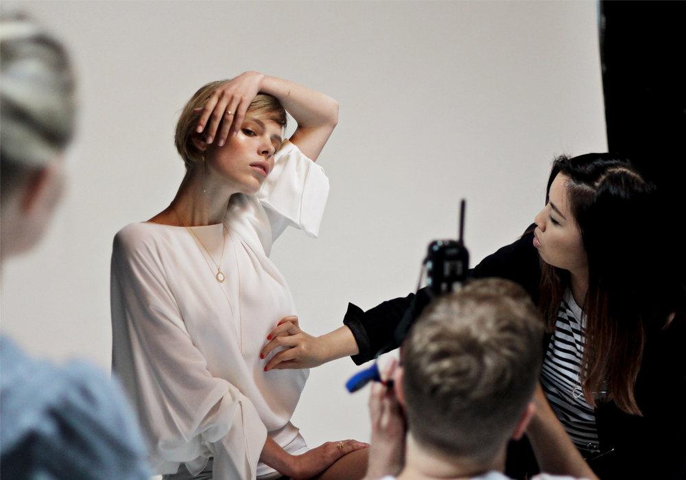 Behind the scenes Phoebe Coleman Look book shoot 14.jpg