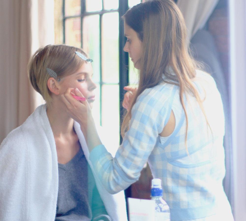 Behind the scenes Phoebe Coleman Look book shoot 17.jpg
