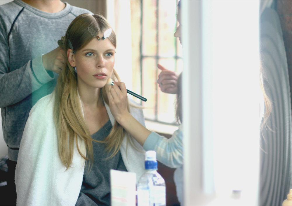 Behind the scenes Phoebe Coleman Look book shoot.jpg