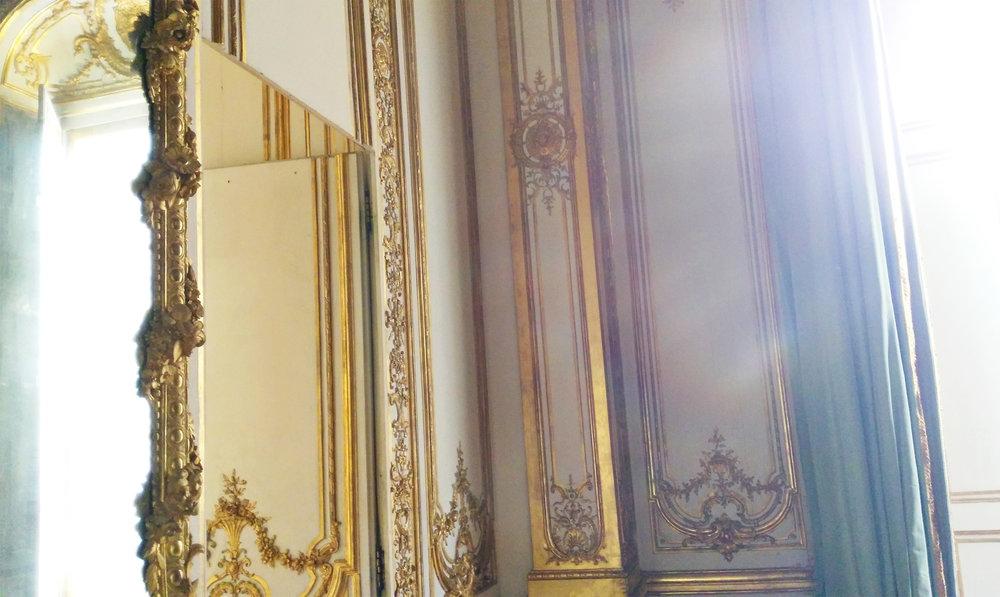 Palace of Versaille secret rooms tour