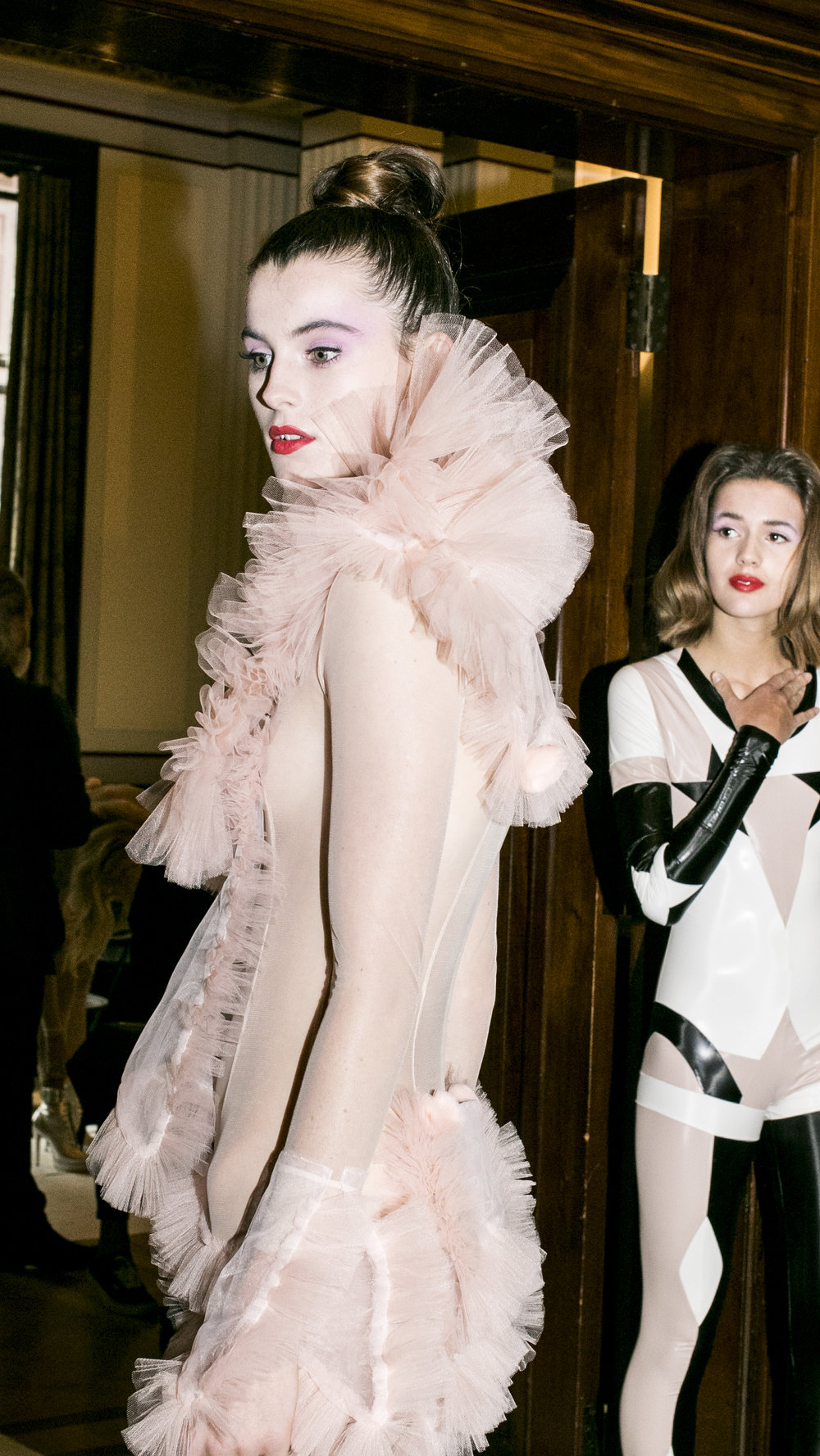 London Fashion Week Pam Hogg SS18 catwalk show