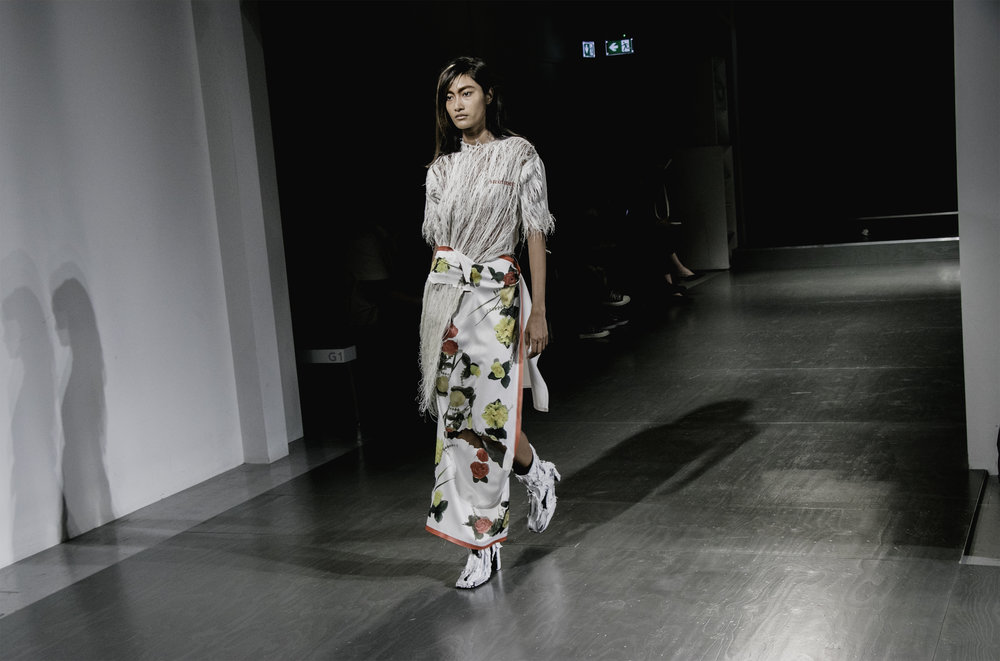 London Fashion Week Faustine Steinmetz SS18