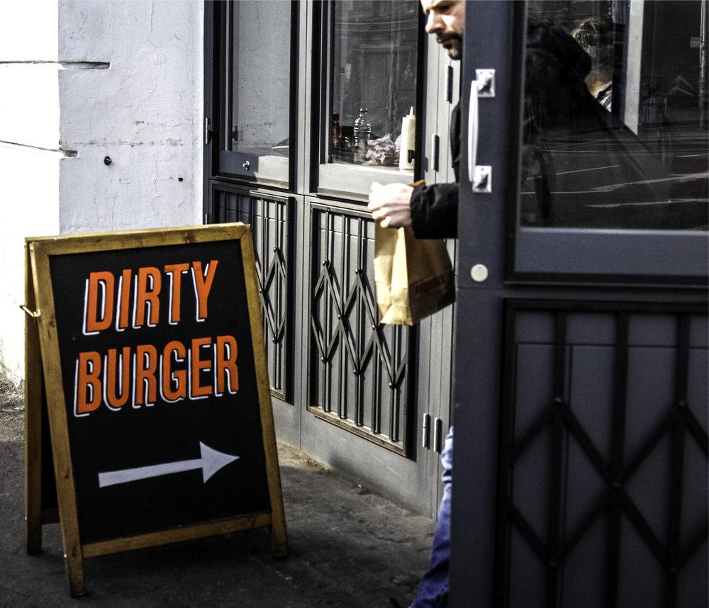 dirty burger shoreditch