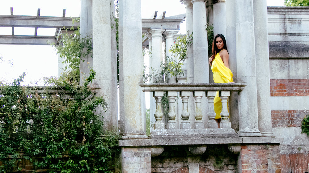 fashion fairytale - Resplendent in yellow, Reena from fashion Daydreams is a vison in ASOS.