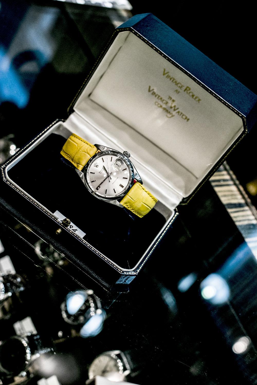 vintage 1984 rolex watch