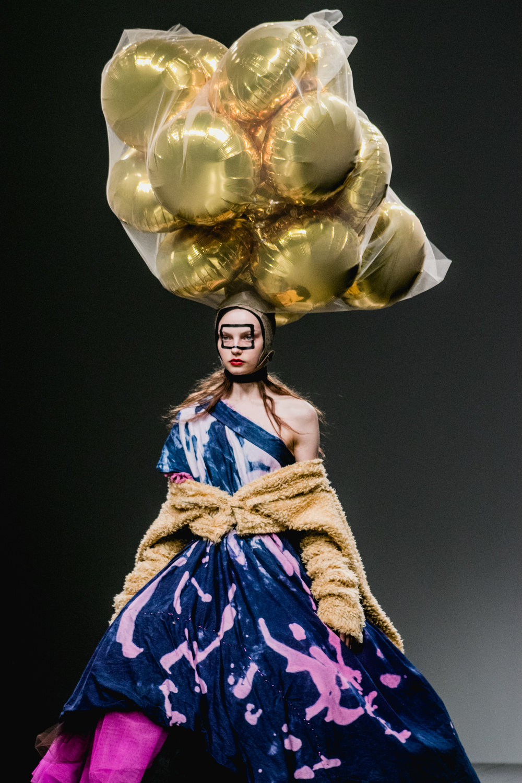 London Fashion Week Matty Bovan AW18
