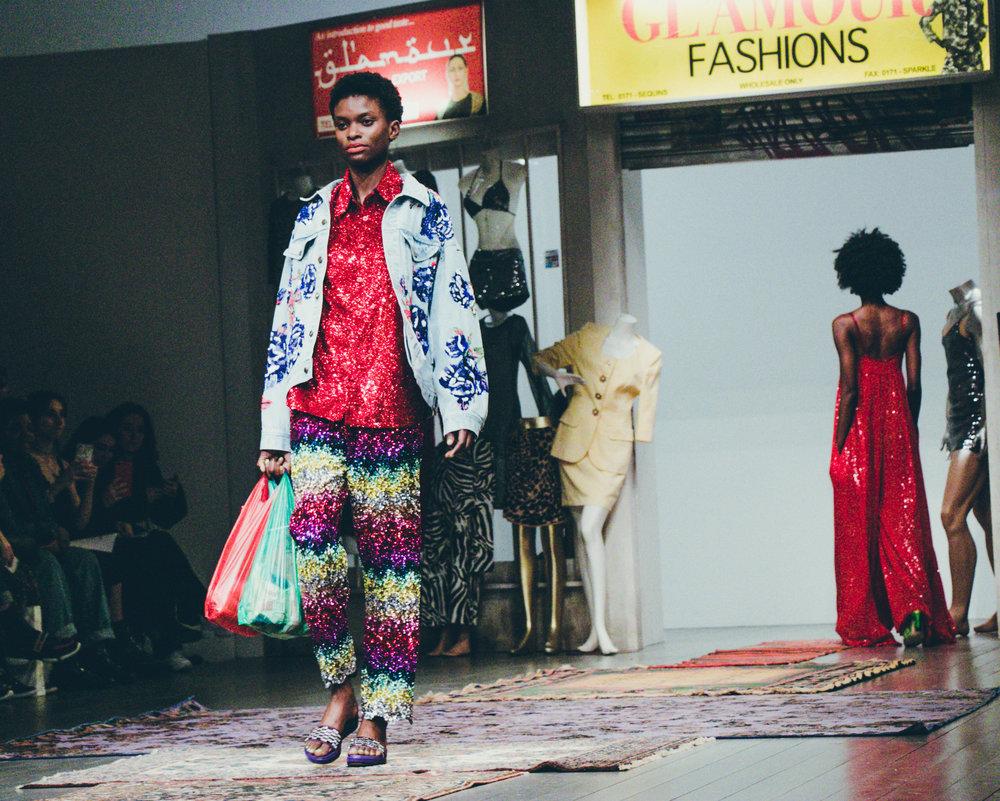 London Fashion Week Ashish AW18