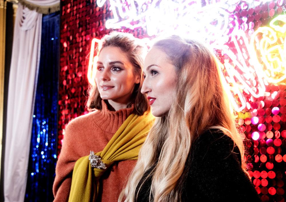 Oliia Palermo and Sophia Webster