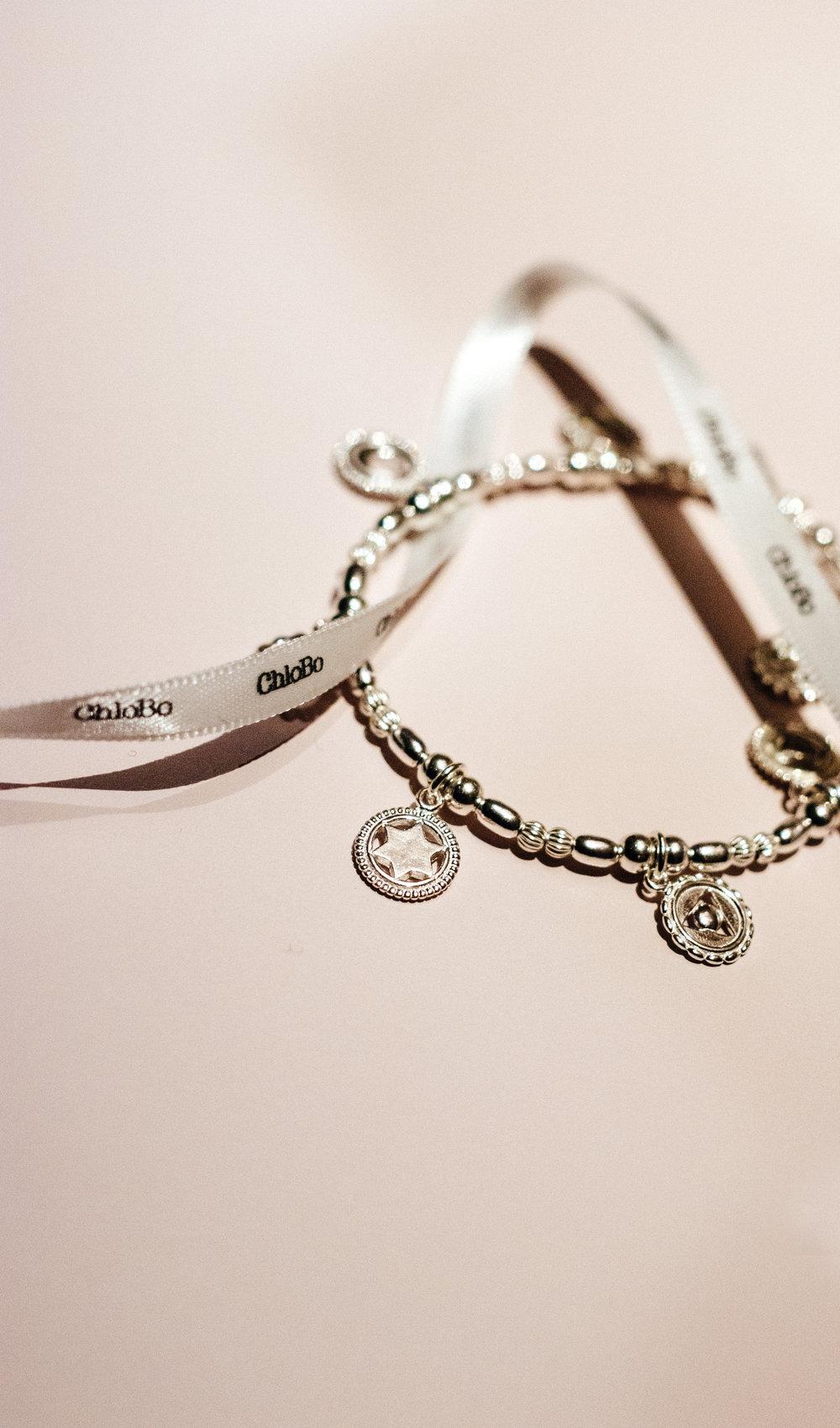 Chlobo jewellery good vibes charm bracelet