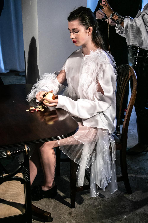 London don Fashion Week Emma Charles SS19