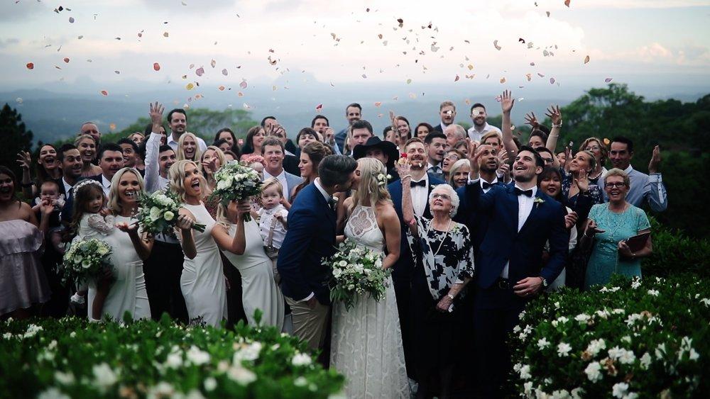 Weddings at Tiffanys, Maleny, Sunshine Coast