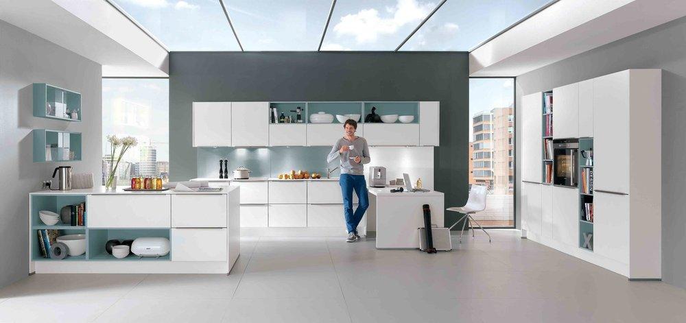 modern nobilia kitchens modern german kitchens a s home design