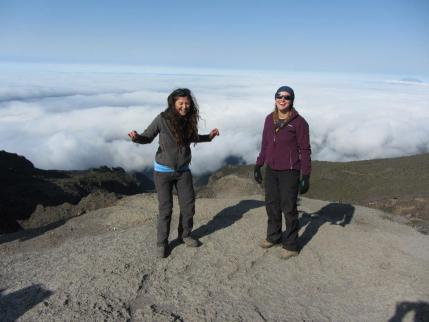 Trek Day 4: At the top of Barranco Wall