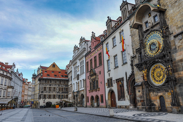 Prague Old Town Square and the Astronomical Clock