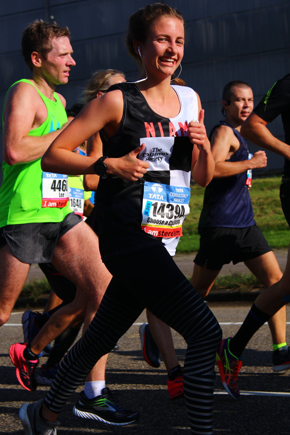 Photo by Felix Bailey on Amsterdam Marathon 2017