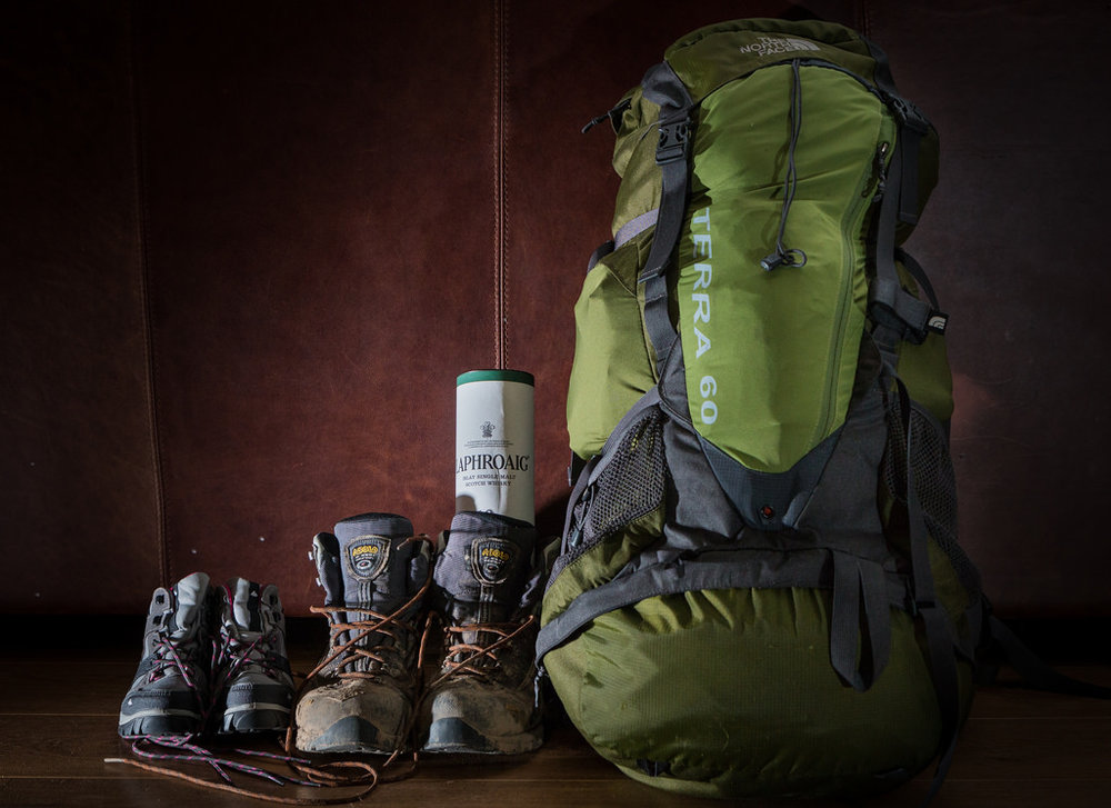 Trekking boots and bags.jpg