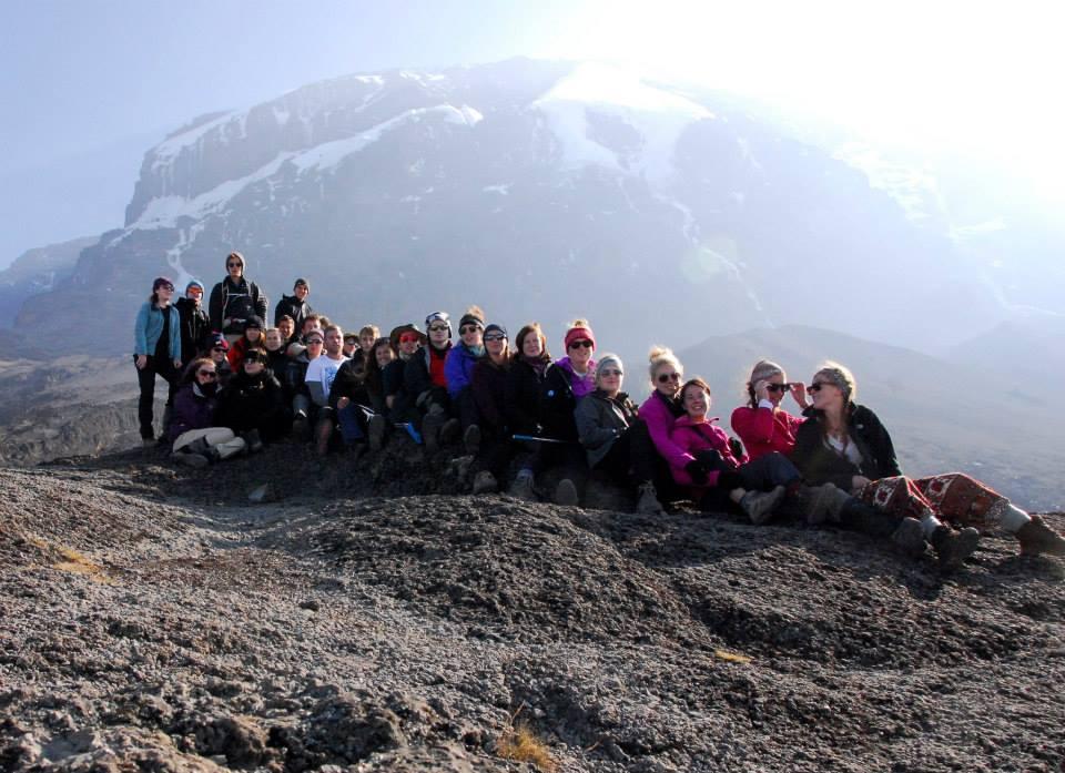 Group at Kilimanjaro