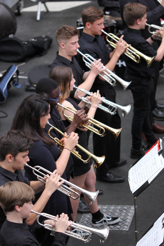 Jazz Band at Boxpark