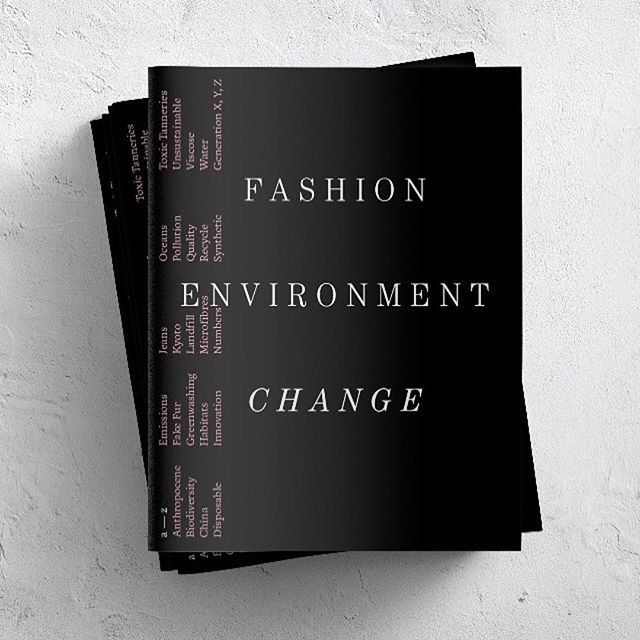 """How does fashion impact the planet? And how can your everyday actions make a crucial difference?"" 🌍 Here's Fashion Revolution's third edition fanzine, FASHION ENVIRONMENT CHANGE. • Follow @fash_rev to order a copy. Let's continue supporting this movement. 🍃 • #fashionrevolution #ethicalfashion #repost"