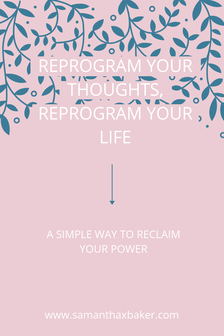 a simple way to reclaim your power