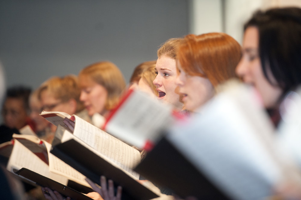 Singing out at Streatham Choral