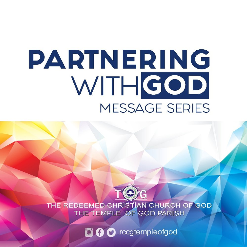 PARTNERING WITH GOD SERIES MARCH, 2017 - MARCH, 2017