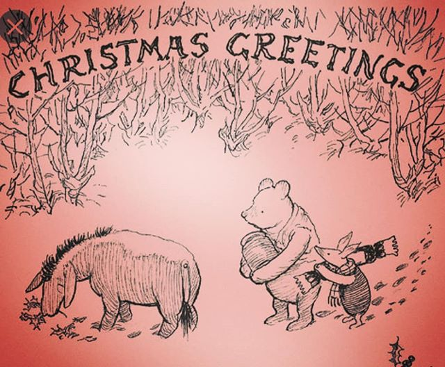 """It strikes me,"" said Eeyore, as Pooh and Piglet made their way over to him, where he was sitting in his house of sticks, ""that you two would be better off not bothering with me for the moment. After all, this is Christmas! The season of Festivities, and Merriment, and Joy and Goodwill to All Men. And women And bears. And pigs. ""But I, I'm afraid, Piglet and Pooh, cannot offer you Festivities, or Merriment. So why not take your leave of me, and go and join Rabbit, and Tigger, and all of the others who are so much fun to be around at this supposedly most wonderful time of the year."" Pooh looked at Piglet, and Piglet looked at Pooh. ""Actually,"" Pooh said in a casual kind of voice, ""if it's all the same to you, Eeyore, then we'll stay."" There was a pause, and Eeyore raised first one eyebrow, then the other eyebrow, and then both eyebrows at the same time. ""But what about your Festivities? And Merriment? I'm afraid you won't get very much of either of those if you're here with me."" ""Yes, well,"" said Piglet. ""Festivities and Merriment are all very well. But after those end, what are you left with?"" There was a short silence. ""That's right,"" continued Piglet, nodding his head as though Eeyore had said something extremely profound. ""You're left with Love. ""And what I've found, over the years, is that sometimes we get Christmas wrong. We focus too much on the Festivities and Merriment, not to mention the Overconsumption and the Excessive Spending. ""When really, Christmas is actually about Love. And we love you Eeyore, which is why, regardless of what you try to tell us, there truly is no place that we would rather be."" Eeyore tried to speak, but found that he couldn't, and really there was no need to, because it turned out, as always, that Pooh and Piglet knew exactly what he meant. ****************************** Repist of text from: www.instagram.com/iknowineedtostoptalkingblog  www.twitter.com/IKINTST  I WROTE A BOOK!! Pre order here: https://www.amazon.co.uk/Absolutely-Smashing-Kathryn-Wallace/dp/075157497X"
