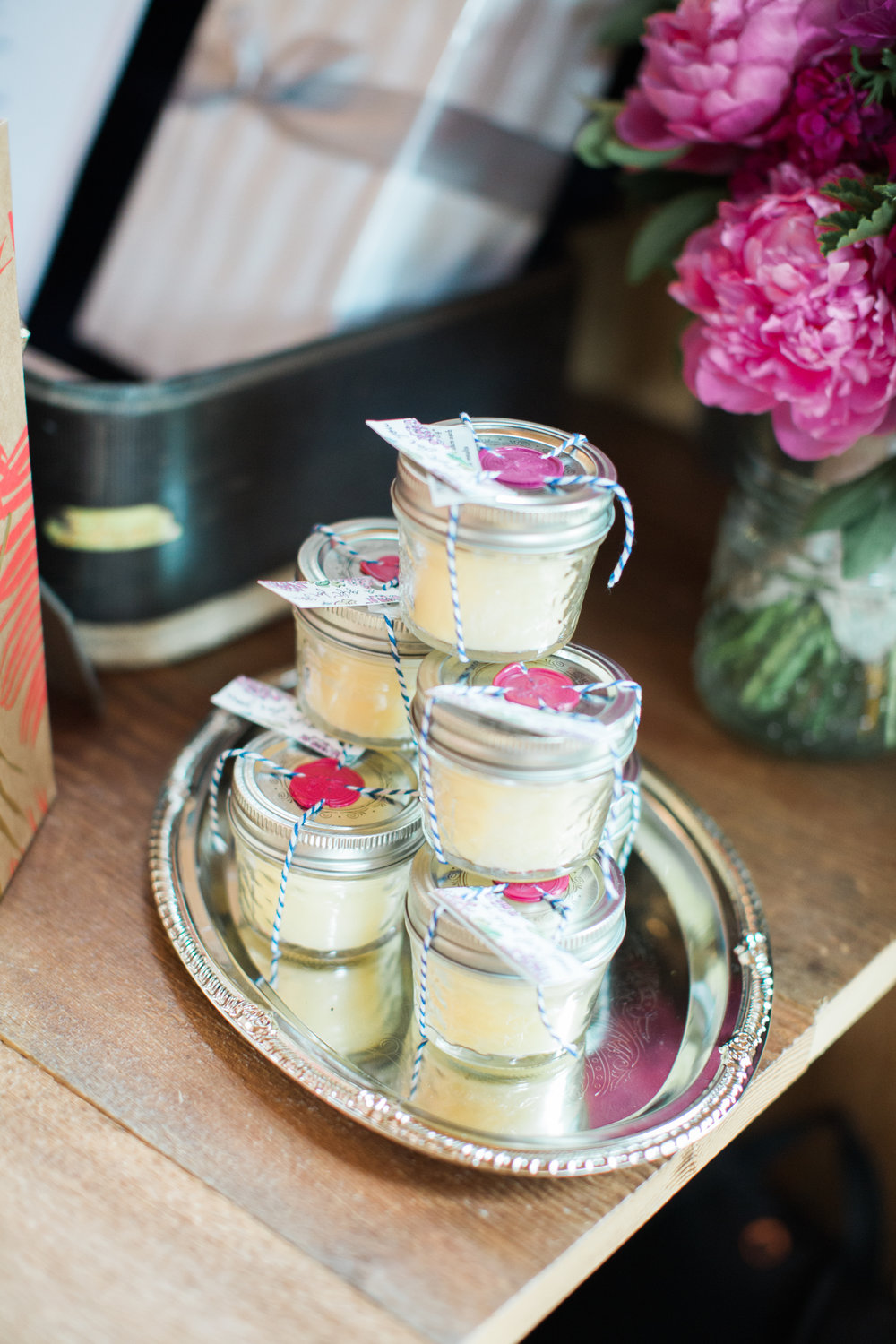 Hand Poured Beeswax Candle Party Favors  Photo By Greta Tucker
