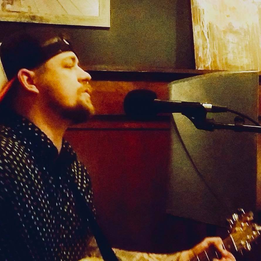 Chris Clemens under the Beer Tent on Thursday night.  7-11pm