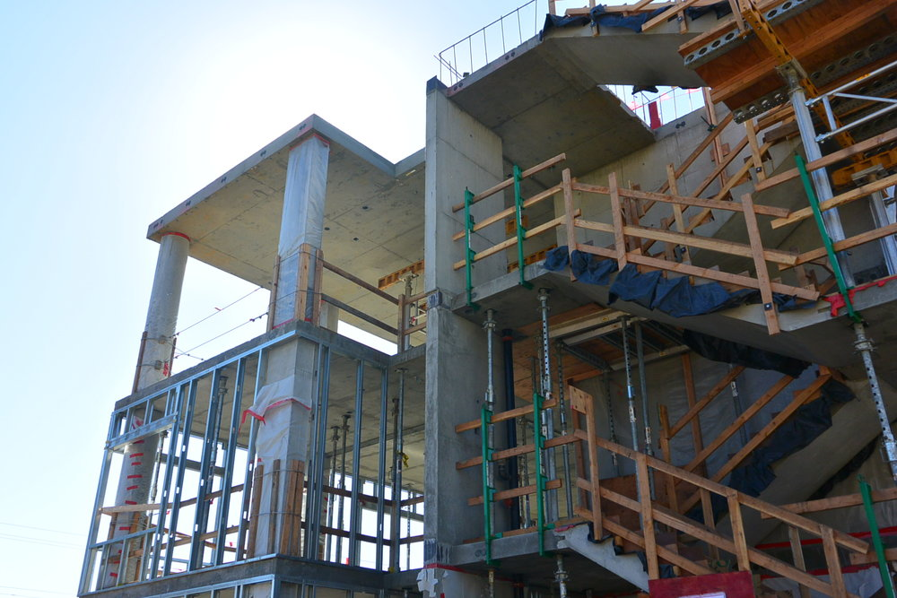 Under Construction: CalPoly mountainview student housing
