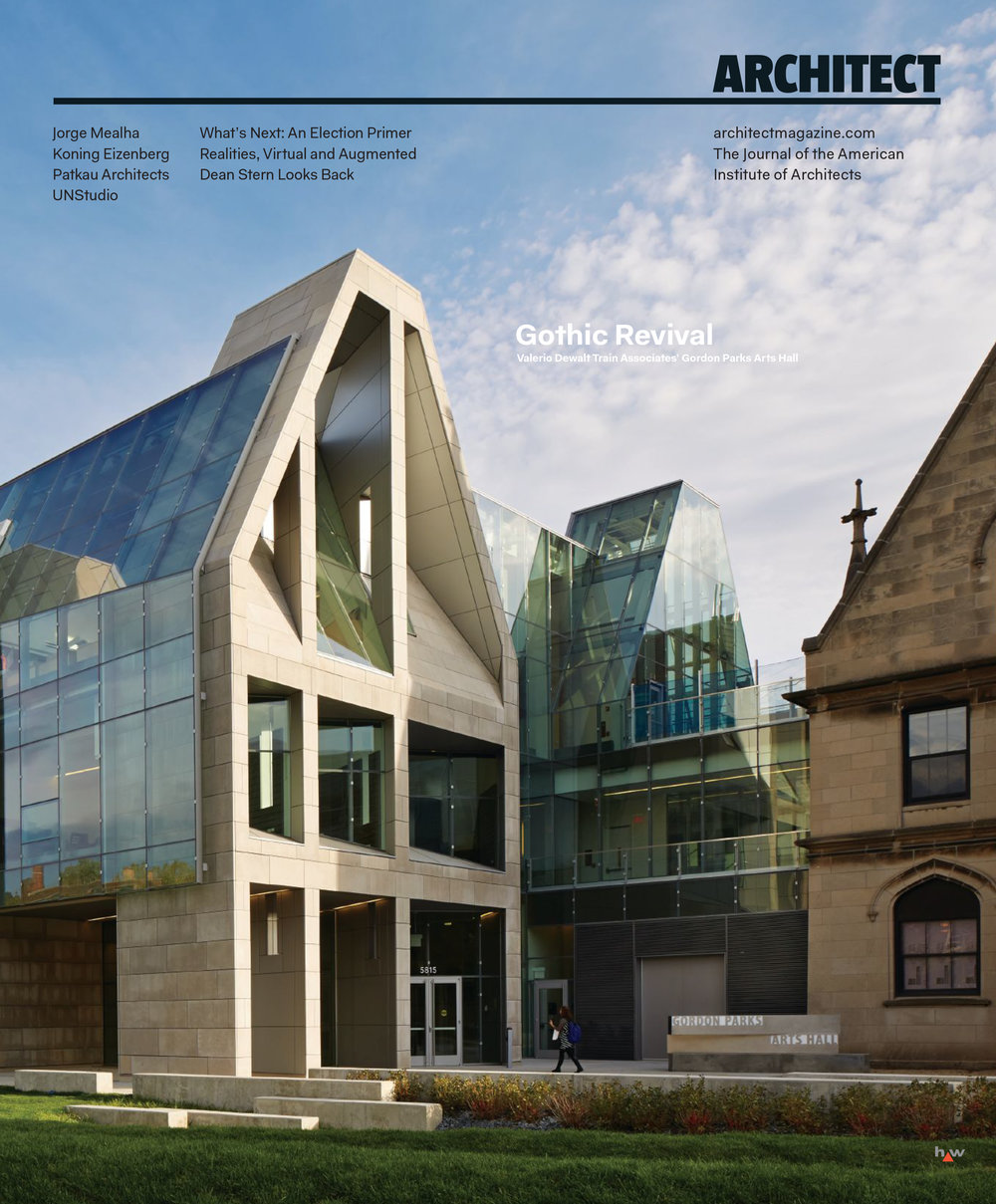 Gordon Parks Arts Hall featured on Architect Magazine