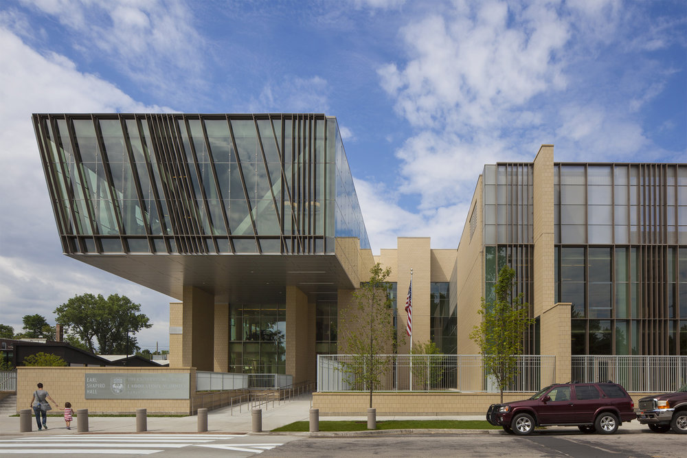 University of Chicago Lab Schools Earl Shapiro Hall