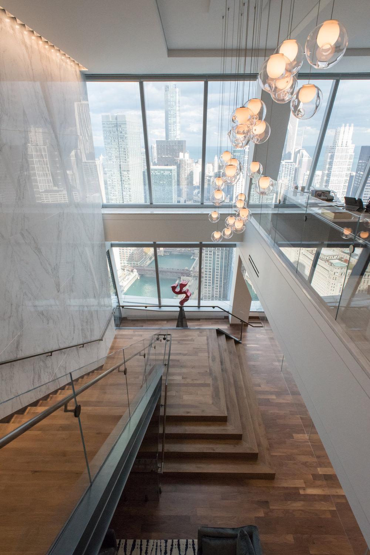 Stairwell,BAM, Chicago, IL (Photo by Valerio Dewalt Train)